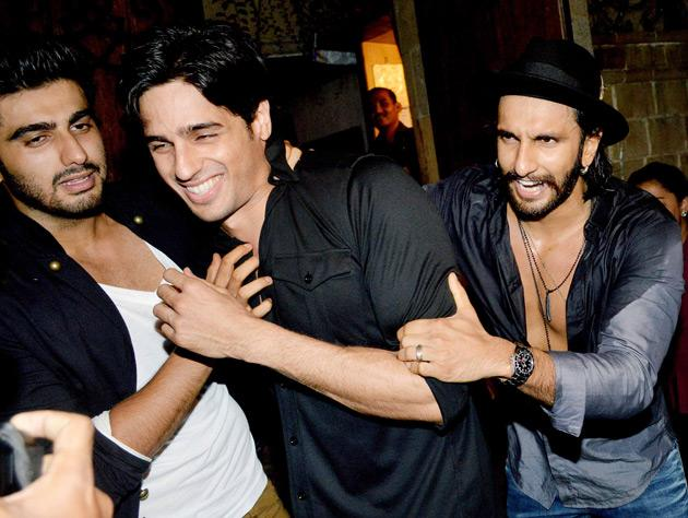 Spotted at Arjun Kapoor's birthday party