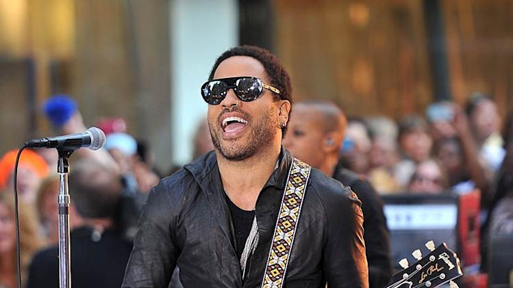 Lenny Kravitz Today Show