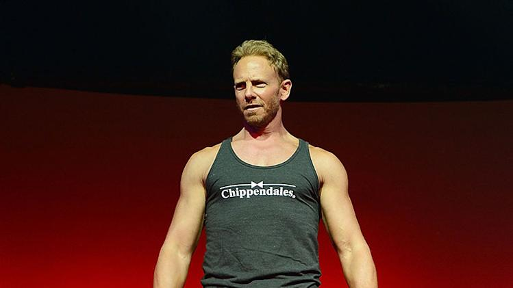 Ian Ziering Rehearses For Upcoming Chippendales Stint At the Rio All-Suite Hotel And Casino