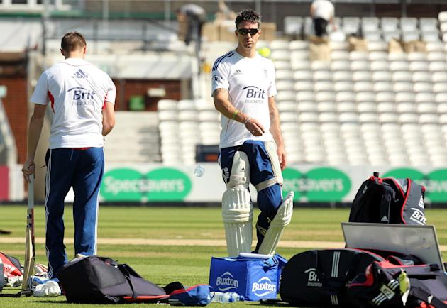 Cricket - Fifth Investec Ashes Test - England v Australia - England Nets - Day Two - The Kia Oval