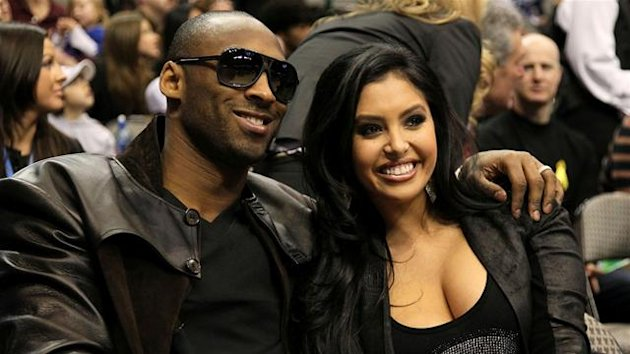 2010 Kobe Bryant and Vanessa Laine