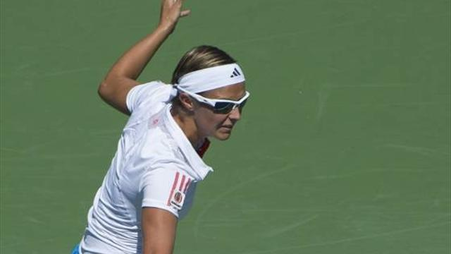 Flipkens wins first title in Quebec