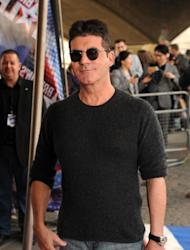 Simon Cowell arrives for a taping of Britain's Got Talent at BFI Southbank in London on March 22, 2012 -- Getty Images