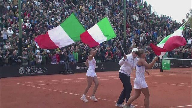 Italy shock USA in Fed Cup