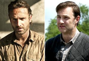 Andrew Lincoln, David Morrissey | Photo Credits: Frank Ockenfels/AMC; Gene Page/AMC