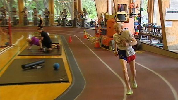 Runner, 95, Breaks World Records