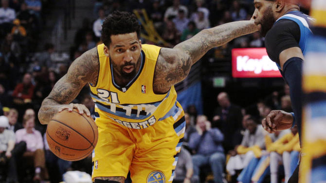 Nuggets end skid by beating Mavericks 115-110