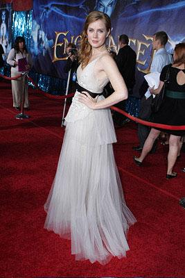 Amy Adams at the Los Angeles premiere of Walt Disney Pictures' Enchanted