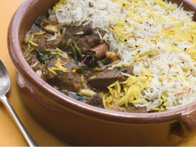 Dig into authentic biryani