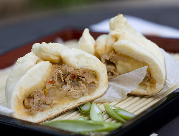 Japanese Steamed Pork Buns