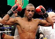 Unbeaten Mike Jones, pictured in 2011, and Guillermo Rigondeaux will fight for world titles on the undercard of Manny Pacquiao's June 9 bout against undefeated Tim Bradley, promoters announced on Thursday