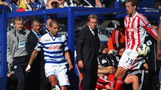 Football - Redknapp admits defeat in drop race