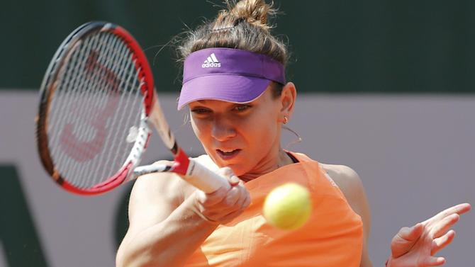 French Open women - Halep v Petkovic: Semi-final live
