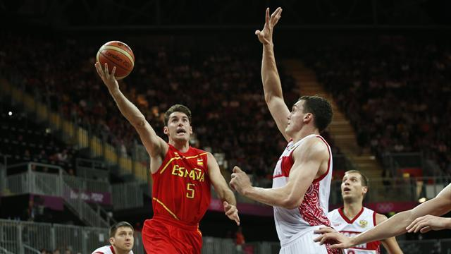 Basketball - Spain crush Serbia to reach Euro semis