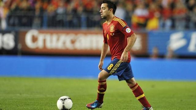 World Cup - Xavi doubtful for Spain qualifier against Finland
