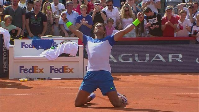 Nadal wins 47th clay court title in Hamburg