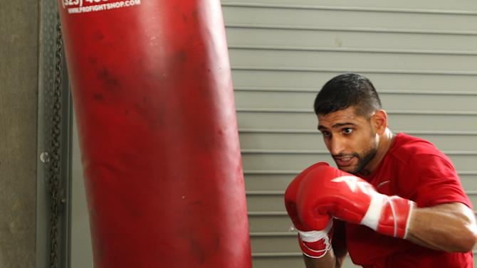 Amir Khan Workout