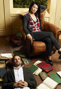 Jonny Lee Miller and Lucy Liu | Photo Credits: Nino Muñoz/CBS