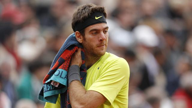 Tennis - Del Potro warms up for Wimbledon with Gasquet win
