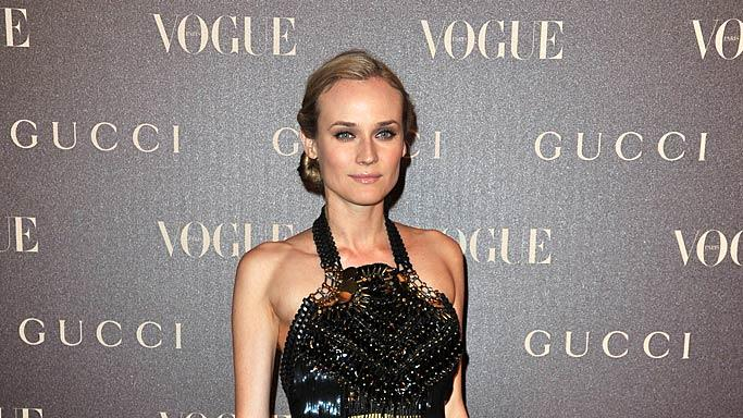 Diane Kruger Paris Fashion Week