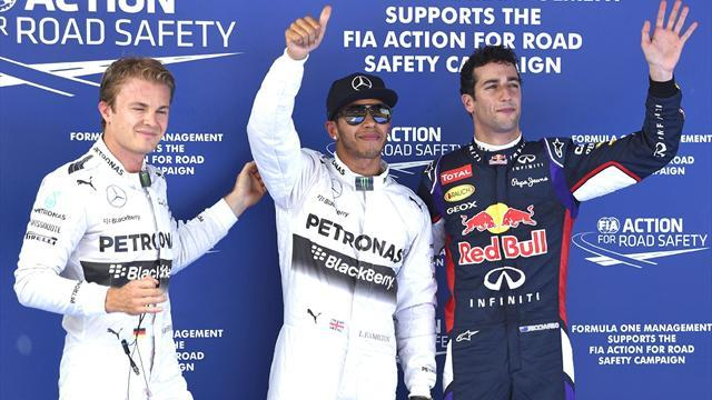 Formula 1 - Hamilton storms to Spain pole ahead of Rosberg