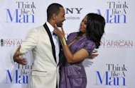 "Terrence J and Regina Hall arrive at the Screen Gems premiere of 'Think Like A Man' in February 2012 in Hollywood, California. The ensemble comedy ""Think Like A Man,"" that garnered mediocre reviews, made $33 million in its opening weekend, according to box office tracker Exhibitor Relations"