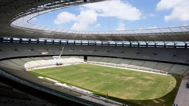 World Cup - Two fans shot dead as World Cup stadium is put to test