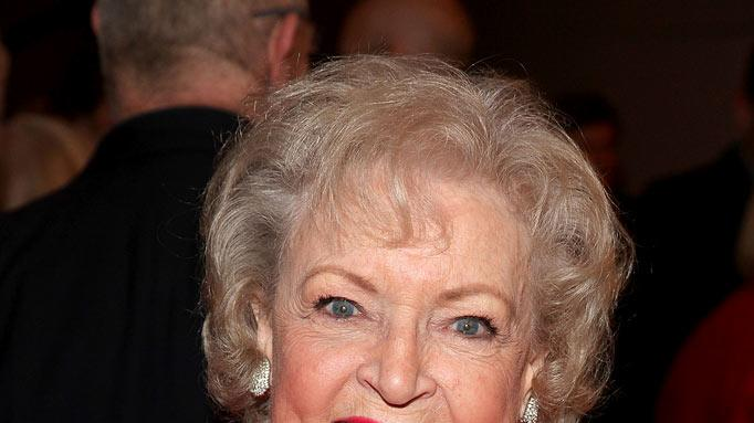 Betty White at the Beverly Hills Hotel on January 20, 2010 in Beverly Hills, California.