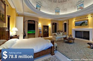This is what the Dynasty house would look like if the Carringtons had real money.