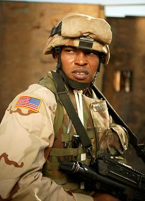 "Sticky Fingaz as Pvt. Maurice ""Smoke"" Williams ""Over There"" on FX"