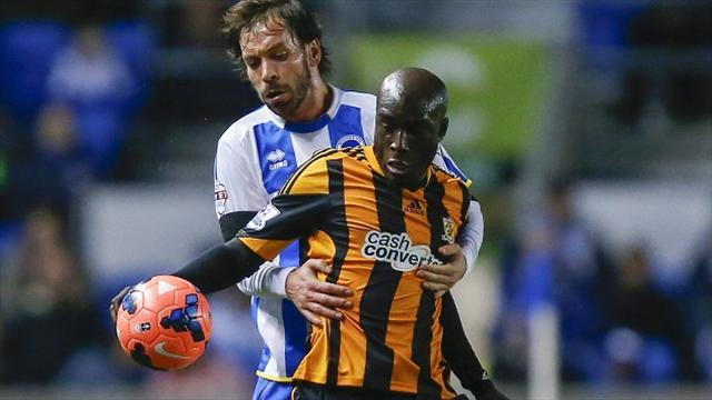 Football - Late Sagbo strike saves Hull