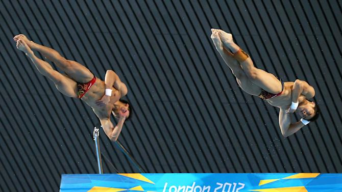 Olympics Day 3 - Diving