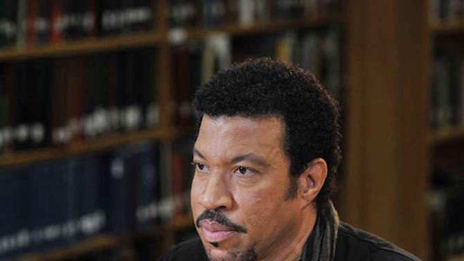 """Lionel Richie as seen on """"Who Do You Think You Are?"""""""