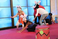 Blindfolded Musical Bunnies