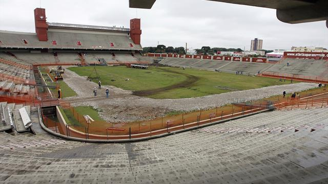 World Cup - Relieved Curitiba admits it needed 'ears pulled'