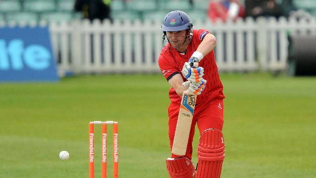 Stephen Moore top scored for Lancashire with 54