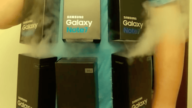The Galaxy Note 7 is a dangerous phone, but a hilarious Halloween costume