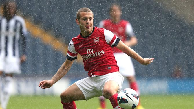 Jack Wilshere could be on the bench for Arsenal against Norwich