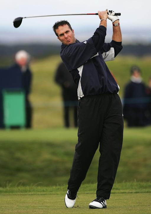The 2004 Dunhill Links Championship Practice Round