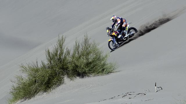 Dakar - Bikes: Coma wins shortened stage five to open huge lead