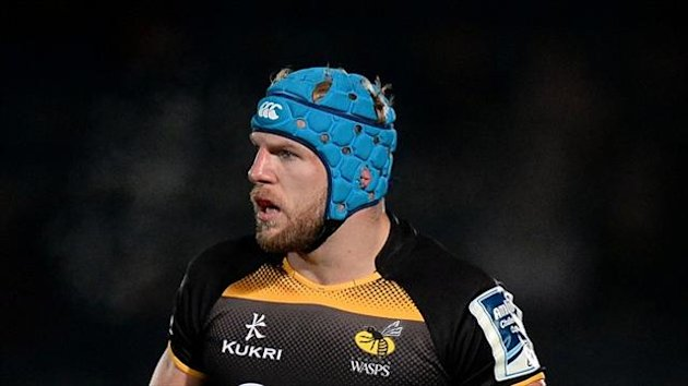 James Haskell went over for Wasps' first try