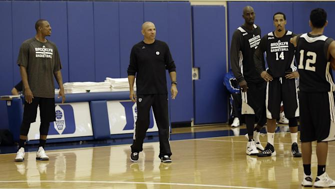 Plumlee right at home as Nets begin camp at Duke