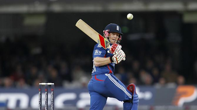 Eoin Morgan smashed 71 off just 36 balls against West Indies last week