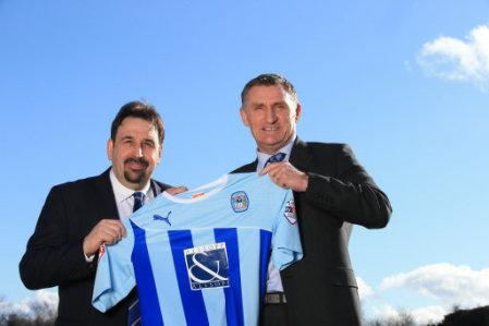 Soccer - Coventry City Unveil New Manager Tony Mowbray
