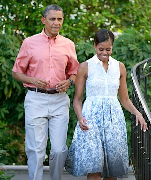 President Obama, Michelle Obama: How They Celebrated the 4th of July