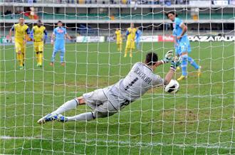 Napoli stunned at Chievo
