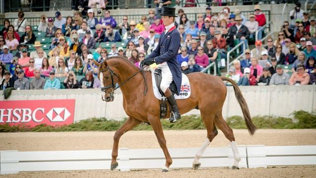 Equestrian - Fox Pitt second individually going into final day at Europeans