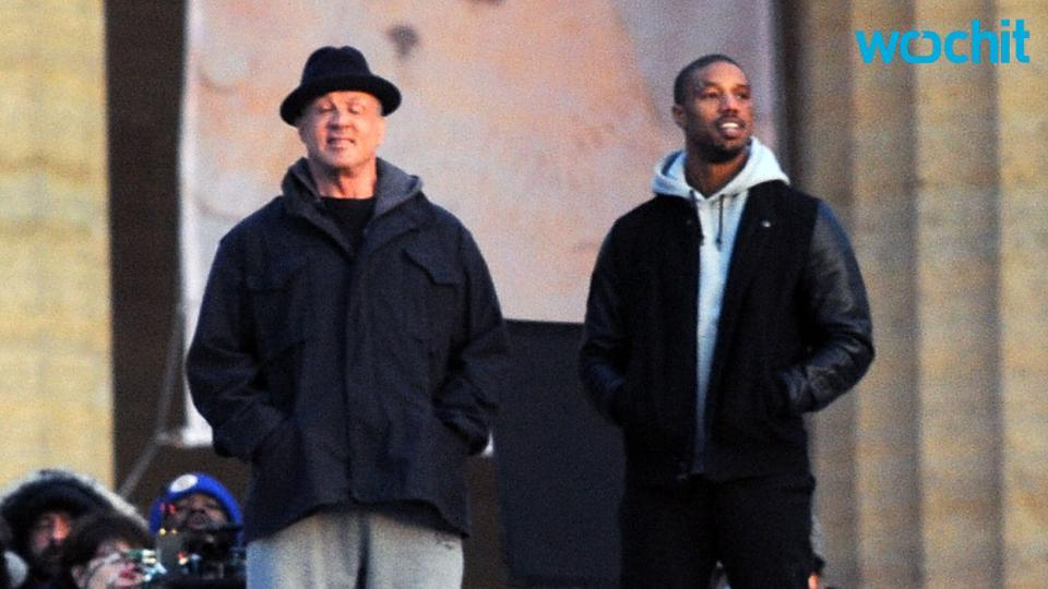 First Pic of Michael B. Jordan and Sylvester Stallone in the Boxing Ring in Rocky Spinoff Creed Released