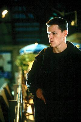 Matt Damon as Jason Bourne in Universal's The Bourne Identity