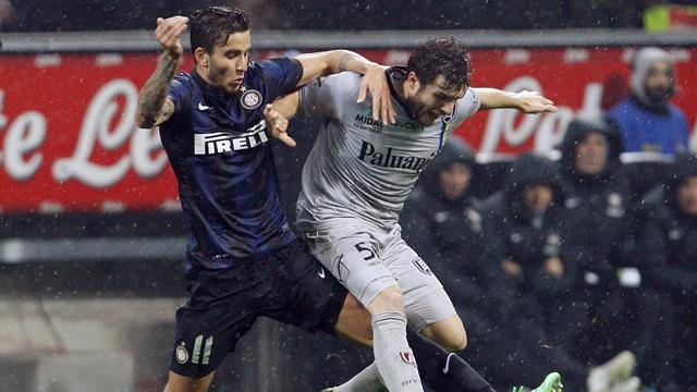 Serie A - Inter problems mount with Chievo draw